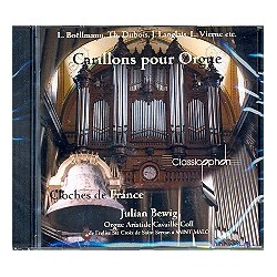 Carillons pour Orgue - Cloches de France : CD