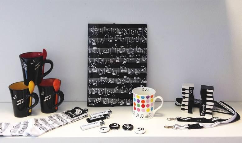 Geschenkartikel und Musikalien-Zubehör online kaufen
